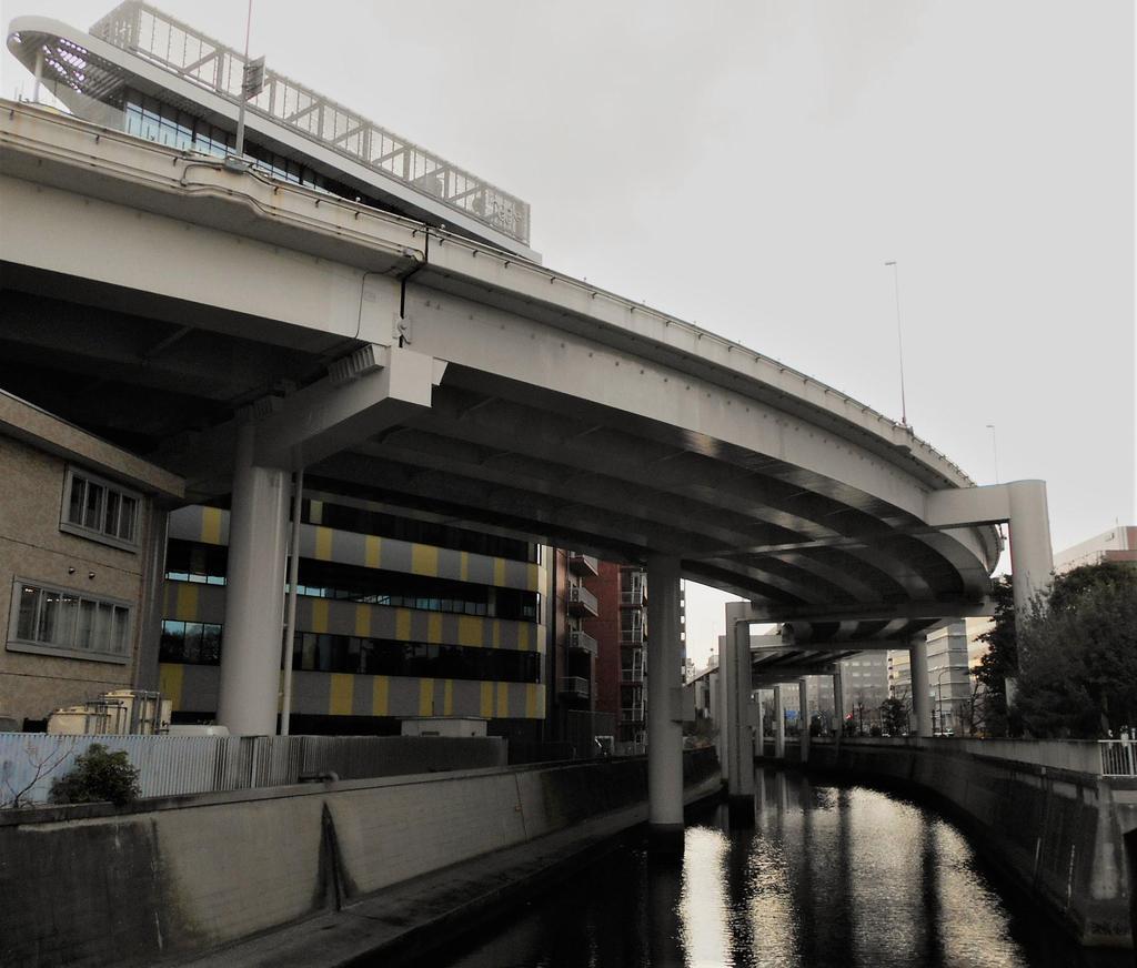 神田川とtoggle hotel 水道橋