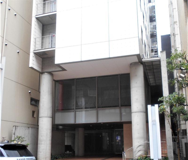 旧・ホテルユニゾ新橋(閉店後)