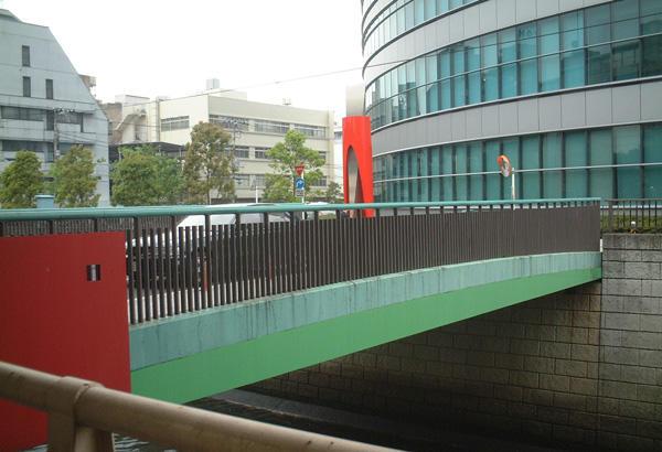 中之橋とトッパン小石川ビル