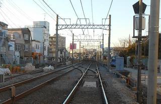 北習志野駅北の新設ポイント(2021/1/31)